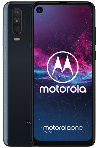 Motorola One Action Blauw Main Image