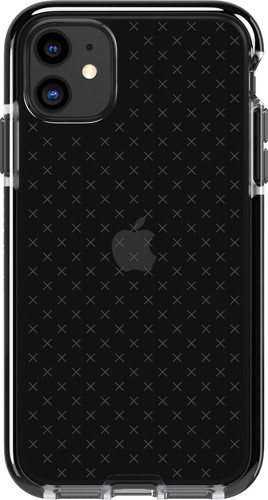 Tech21 Evo Check Apple iPhone 11 Back Cover Zwart Main Image