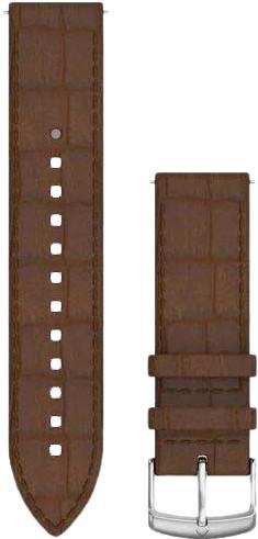Garmin Quick Release 20mm Horlogeband Leer Donkerbruin Main Image