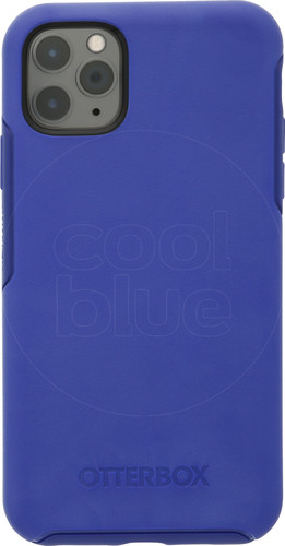 Otterbox Symmetry Apple iPhone 11 Pro Max Back Cover Blauw Main Image