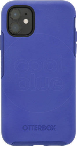 Otterbox Symmetry Apple iPhone 11 Back Cover Blauw Main Image