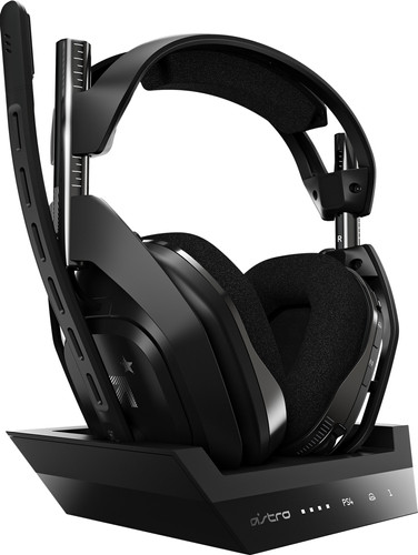 Astro A50 Draadloze Gaming Headset + Base Station voor PS5, PS4 - Zwart Main Image