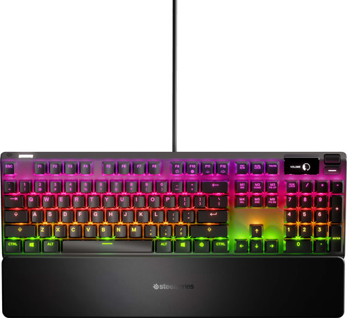SteelSeries Apex 7 Red Gaming Toetsenbord QWERTY Main Image