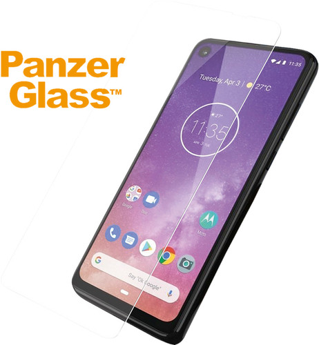 PanzerGlass Case Friendly Motorola One Vision Screenprotector Glas Main Image