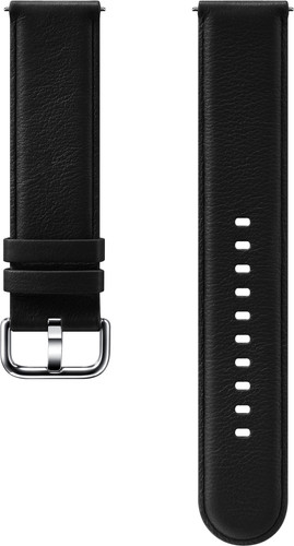 Samsung Galaxy Watch Active 2 Leather Strap Black Main Image