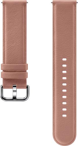 Samsung Galaxy Watch Active 2 Leren Bandje Roze Main Image
