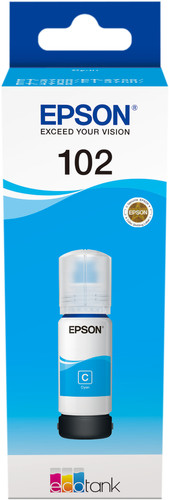 Epson 102 Ink Bottle Cyan Main Image