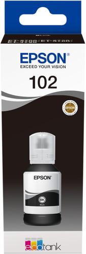 Epson 102 Ink bottle Pigment black Main Image