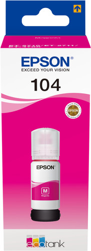 Epson 104 Ink Bottle Magenta Main Image