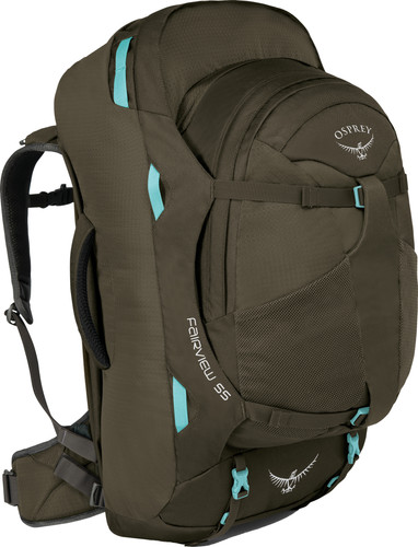 Osprey Fairview 55L Slim Fit Misty Grey Main Image