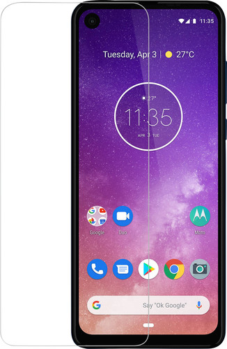 Azuri Rinox Motorola One Vision Screenprotector Gehard Glas Main Image