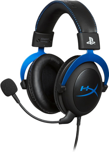 HyperX Cloud Gaming Headset PS4 Blauw Main Image