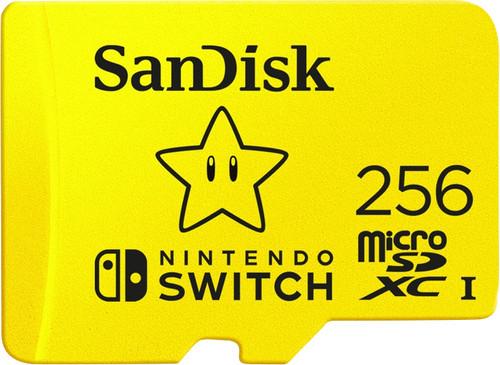 SanDisk MicroSDXC Extreme Gaming 256GB Nintendo licensed Main Image