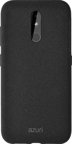 Azuri Flexible Sand Nokia 3.2 Back Cover Zwart Main Image
