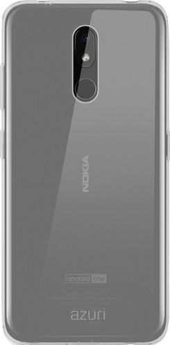 Azuri TPU Nokia 3.2 Back Cover Transparant Main Image