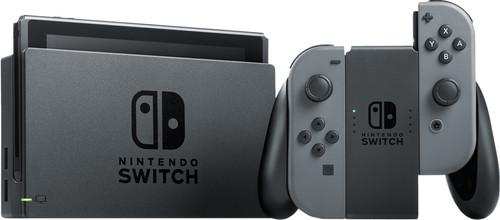 Nintendo Switch (2019 Upgrade) Gray Main Image