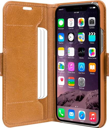 DBramante1928 Copenhagen Apple iPhone 11 Pro Book Case Leer Bruin Main Image
