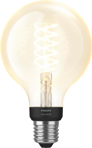Philips Hue Filamentlamp White Globe E27 Bluetooth Main Image