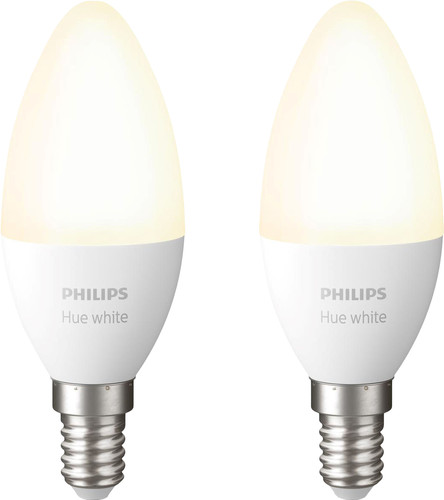 Philips Hue Candle Light White E14 Bluetooth Duo Pack Main Image