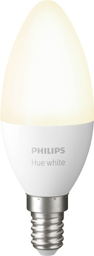 Philips Hue Kaarslamp White E14 Single Pack Bluetooth Main Image