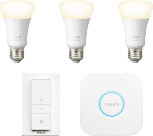 Philips Hue White Starter Pack E27 met dimmer Main Image
