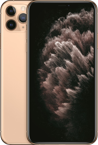 Apple iPhone 11 Pro Max 256 GB Goud Main Image