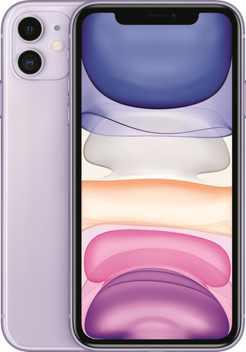 Apple iPhone 11 64 GB Paars Main Image