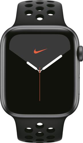 Apple Watch Nike Series 5 44mm Space Gray Aluminium / Zwarte Sportband Main Image