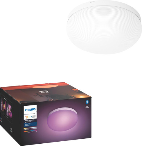 Philips Hue Flourish Ceiling Light White & Color White Main Image