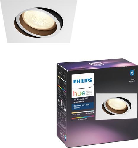 Philips Hue Centura Recessed Spot Light White & Color square white Main Image
