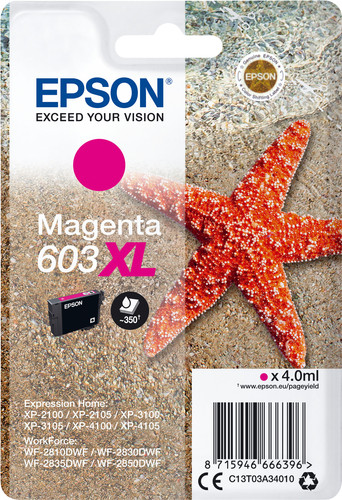 Epson 603XL Cartridge Magenta Main Image