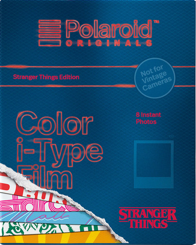 Polaroid Originals Color i-Type Instant Fotopapier Stranger Things Main Image
