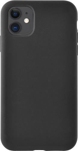 Azuri Apple iPhone 11 Siliconen Back Cover Zwart Main Image