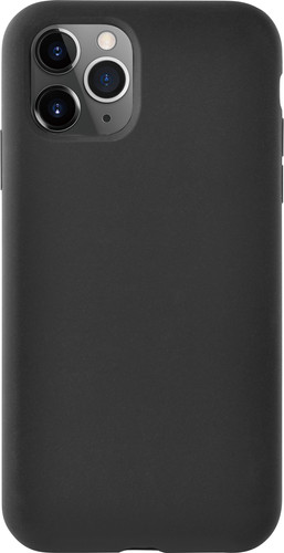 Azuri Apple iPhone 11 Pro Max Siliconen Back Cover Zwart Main Image
