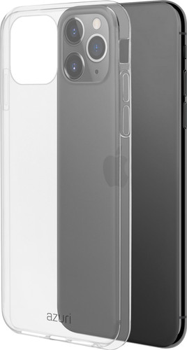 Azuri TPU Apple iPhone 11 Pro Max Back Cover Transparant Main Image
