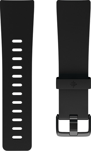 Fitbit Versa 2 Classic Accy Siliconen Horlogeband Zwart S Main Image
