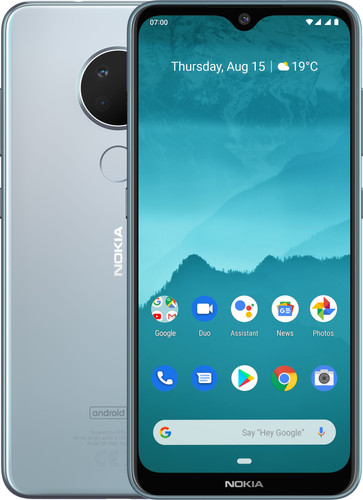 Nokia 6.2 Grijs Main Image