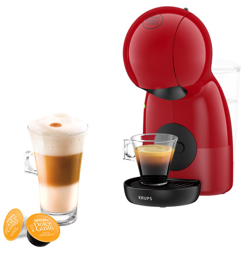 Krups Dolce Gusto Piccolo XS KP1A05 Red Main Image