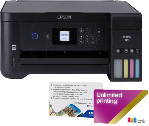 Epson EcoTank ET-2750 Unlimited Main Image
