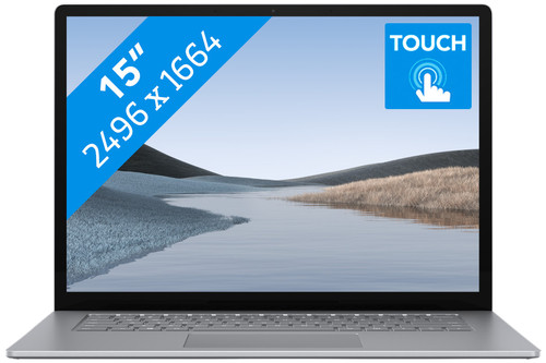 "Microsoft Surface Laptop 3 15"" 8 GB - 128 GB Platinum Main Image"