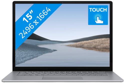 "Microsoft Surface Laptop 3 15"" 8 GB - 256 GB Platinum Main Image"