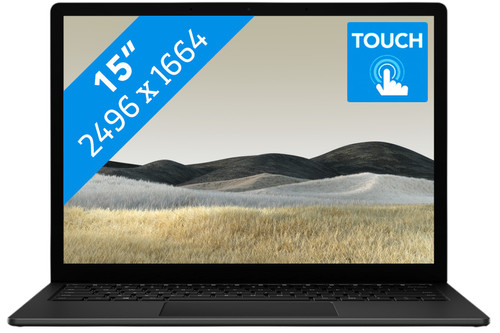 Microsoft Surface Laptop 3 15-inch 8GB - 256GB Black Main Image