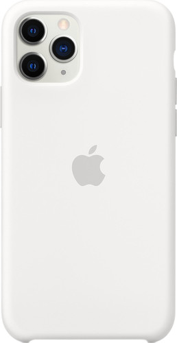Apple iPhone 11 Pro Max Silicone Back Cover Wit Main Image