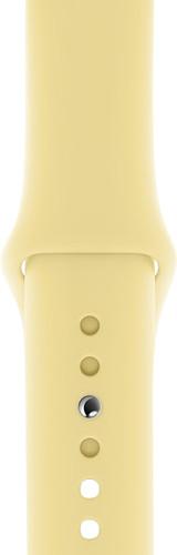 Apple Watch 40mm Silicone Watch Strap Sport Lemon Cream S/M & M/L Main Image