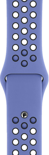 Apple Watch 40mm Silicone Watch Strap Nike Sport Royal Pulse/Black S/M & M/L Main Image