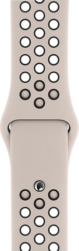 Apple Watch 40mm Silicone Watch Strap Nike Sport Desert Sand/Black S/M & M/L Main Image