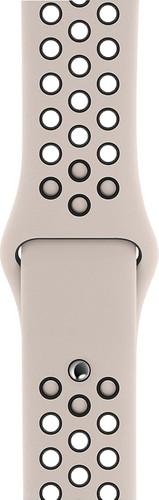 Apple Watch 40mm Siliconen Horlogeband Nike Sport Desert Sand/Zwart S/M & M/L Main Image