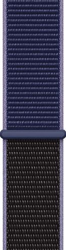Apple Watch 44mm Nylon Sport Loop Horlogeband Middernachtblauw Main Image