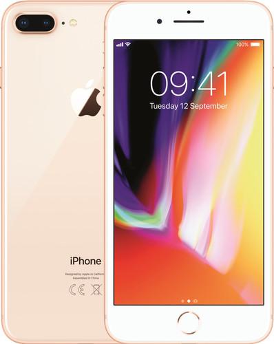 Apple iPhone 8 Plus 128GB Goud Main Image