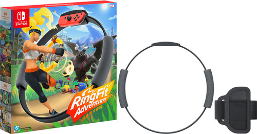 Ring Fit Adventure Switch + Ring-Con Main Image